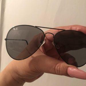 Ray Ban aviator sunglasses - black